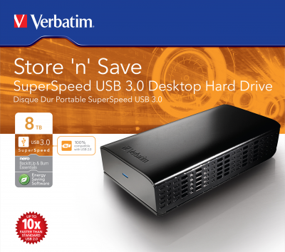Store 'n' Save SuperSpeed USB 3.0